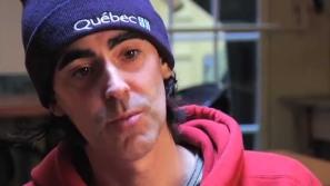 Biz, Sébastien Fréchette, écrivain et rappeur canadien.